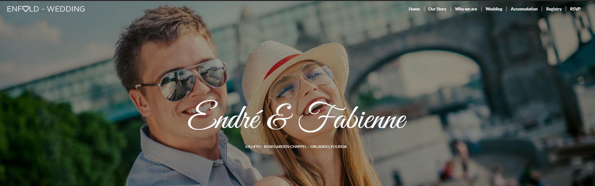 Weboldal, Esküvői weboldal